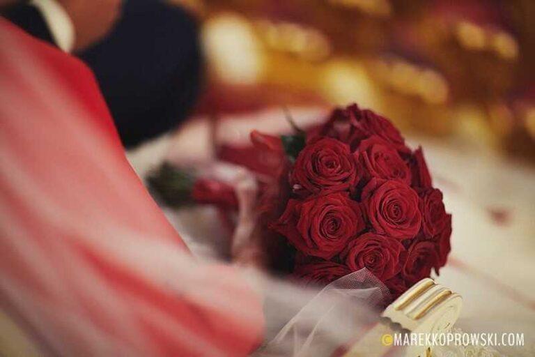 Czerwone wesele – spektakularne i zapadające w pamięć