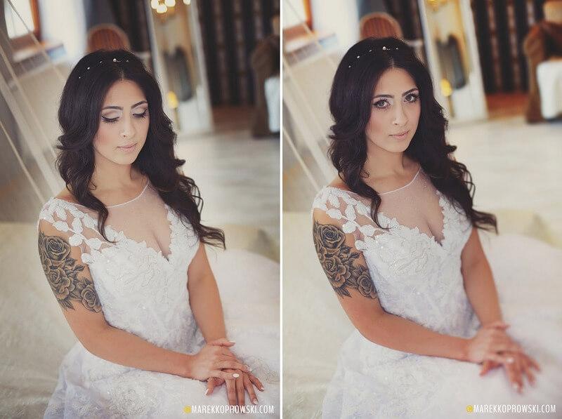 diadem do ślubu