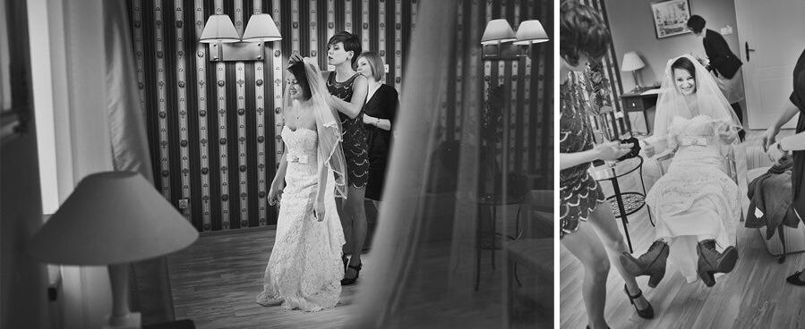dwie suknie