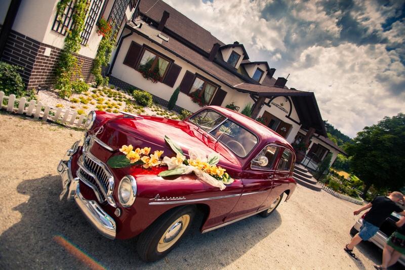 limuzyna wesele retro