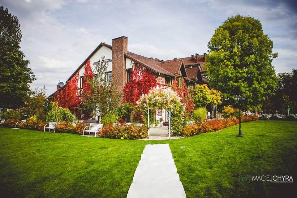 piękny ogród wesele