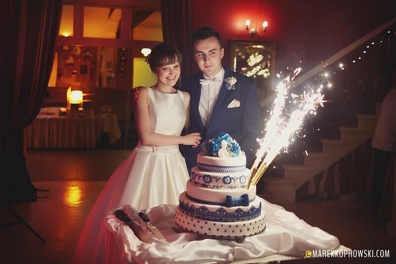 tradycja wesela tort