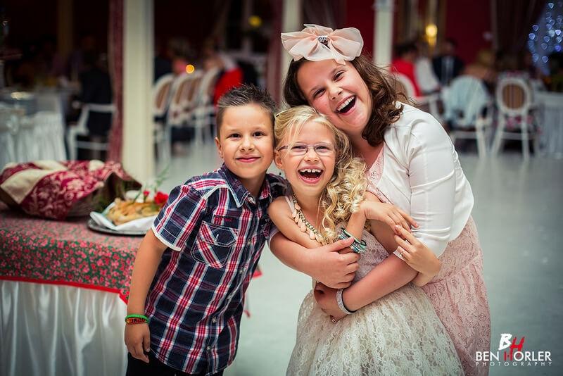 wesele dzieci