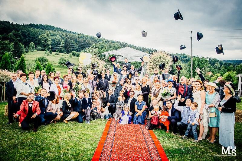 wesele i ślub w ogrodzie